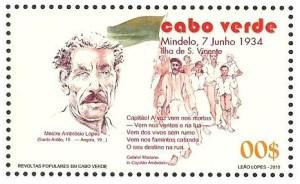 Stamp Captain Ambrosio Lopes